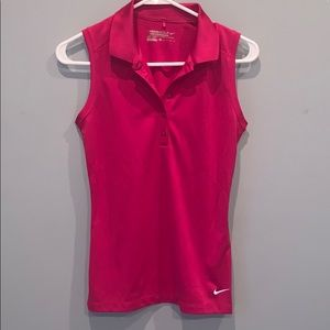 Nike Dri-Fit Sleeveless Golf Tank Top